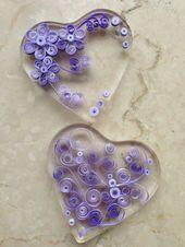 Make heart as jewelry yourself – #QuillingCat #QuillingNavidad #QuillingQuadro – Angela – PickPin
