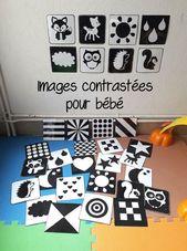 Les photos contrastées en Noir et Blanc pour Bébé –
