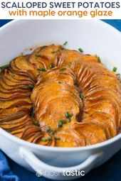 Paleo Scalloped Sweet Potatoes
