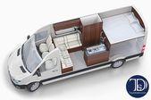 Motorhome 3d, RVs 🚐 Layouts 3D Design ➤ studio