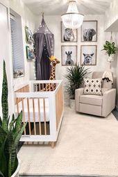 Babyzimmer im Dschungel-Stil