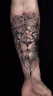 Beliebte Lion Tattoo-Ideen für Männer und Frauen – Tattoos