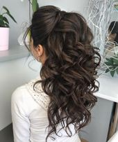 Bridesmaid Hair Brunette #Bridesmaid Hair # Brunette - Bridesmaid Hair #Bridesmaid Hair #Bridesmaid -