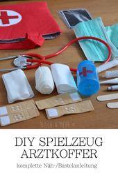 DIY Arztkoffer & Zubehör für Kinder | Milch & Mehr
