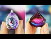Resin GALAXY necklace DIY Ocean from Resin 🌊 8 CHEAP AND EASY DIY JEWELRY IDE…  – Crafting || Resin and Acrylic Sculpting