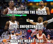 Können Sie sich dieses Team vorstellen? – NBA Memes – nbafunnymeme.com / …   – Nba