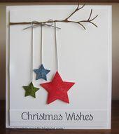20+ handgemachte Weihnachtskarten Ideen