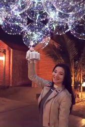Buy 10 Free 5 & FREE SHIPPING! Christmas LED BALLOON REUSABLE