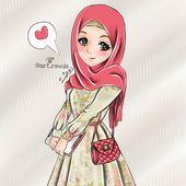 Imran Hira Anime Muslimah Anime Muslim Hijab Cartoon