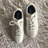 K-Swiss Schuhe | K-Swiss White Sneakers | Farbe: Weiß | Größe: 8