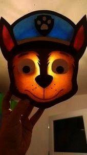 Powkinderleichte Lightlaternen Kinderleichte Instructions Bastelideen Lanterns Laternen Laterne Basteln Imita In 2020 Paw Patrol Chase Paw Patrol Paper Dolls