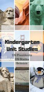Curriculum – – Unit Studies
