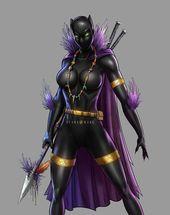 Shuri als schwarzer Panther #marvelcostumes #marvelghostrider #Marvella #marvelman …   – CHARACTER Styles & Art V2.0