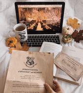 Hogwart Letter #booksandcoffee   – Autumn