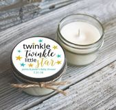 Twinkle Twinkle Little Star Baby Shower Favors Candles – #baby #candles #favors … – Babies