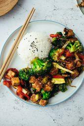 Tofu Stir Fry (30 Minuten) Rezept