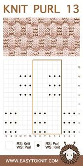Knit Purl 13: Basketweave – Easy to knit
