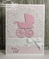 Baby Cards Hello and welcome here! It's time for another Cuttlebug Mania Challenge and ...