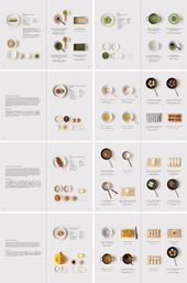 Minimalist Multicultural Cookbooks cookbook design…