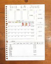 6月の一週目 予算 2 000円 合計 0円 2 000円の黒字でした