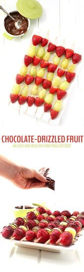 Photo of Super Fruit Kabobs Christmas Sweets Ideas