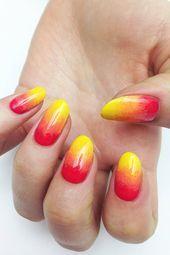 Fröhliche Nägel sind das ultimative Gegenmittel gegen das düstere Wetter draußen – Beauty / Fitn …   – Nageldesign ideen