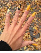 #Best #Fall Wunderschöne 40 besten Herbst-Nagelfarben-Ideen, die im Moment angesagt sind …   – xmode