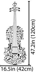 Music Notes Wall Decal Violin Wall Art Violin Gifts Violin Instrument Violin Decal Violin Wall Decal Violin Decor Violin Art Violin Sticker – Ursula Büll
