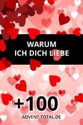 100+ Gründe Warum ich Dich liebe – Ich liebe Dich weil