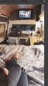 """Traum in den Sternen"" #vanlife #campervan #van # truckamégané #campingc … – Wohnzimmer Dekoration"