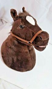 Sound N Light Animatronics Singing Plush Horse Head Motion Sensor Wall Hang Littlelivepets In 2020 Plush Horse Little Live Pets Horse Head
