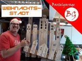 Weihnachtsstadt / Weihnachtsdeko selberbauen – You…