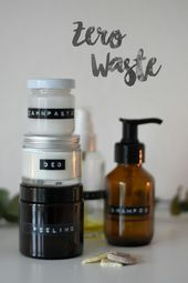 5 einfache DIY Kosmetikrezepte   – Zero Waste DIY Kosmetik