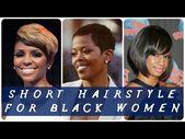 40 Beste Kurzhaarfrisur für schwarze Frauen   – Short Hairstyle Women