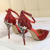 Cute high heel peep toe pumps women shoes