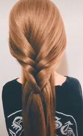 Frisuren für eine Dame
