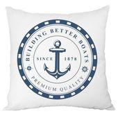 Poduszki W Stylu Marynistycznym 1 6882523222 Oficjalne Archiwum Allegro Anchor Throw Pillows Pillows Marine Pillow