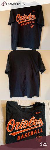 Nike Orioles T-shirt – Mens Large Nike Orioles T-shirt Mens Large Black  Gently …