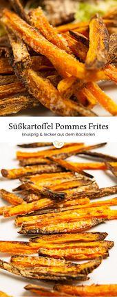 Süßkartoffel-Pommes frites