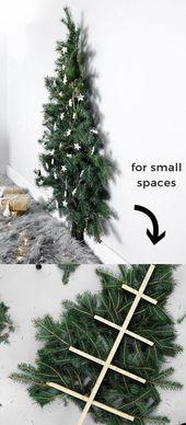 Árvores de Natal Lindas e Diferentes # Árvores …