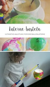 Making lantern with toddlers // DIY