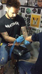 Vitiligo marks cover up – Tattoo Art by SKIN MACHINE TATTOO STUDIO. Bhopal . India