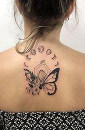 50+ absolut einzigartige Tattoo-Ideen für Frauen, die extrem schön sind