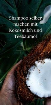 Haarshampoo selber machen mit Teebaumöl