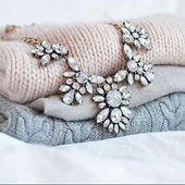 """Auffällige Halskette """"Glamourös Und Glitzernd"""" – #Mode #Girly #Glam #Schmuck #Oootd"""