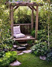 #Galerie Eaux apaisantes – pergola rustique   – Gartengestaltung ideen