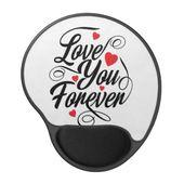Beautiful Love Heart Quote  Mouse Pad | Zazzle.com