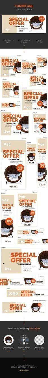 #furnituredesigns #furniture #banners #behance #designs