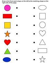 Shapes – math Worksheets – preschool Worksheets by janelle