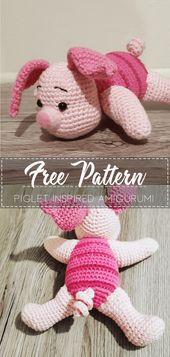 Piglet Inspired Amigurumi – Pattern Crochet – Cute Crochet